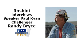 Roshini interviews Speaker Paul Ryan challenger Randy Bryce
