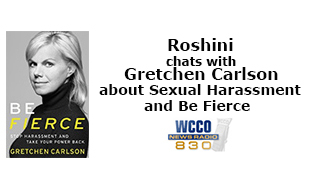Roshini chats with Gretchen Carlson about Sexual Harassment