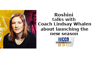 Coach Lindsay Whalen talks with Roshini about launching the new season