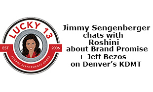 KDMT's Jimmy Sengenberger talks with Roshini about Brand Consistency on her 13th Anniversary + Jeff Bezos Lessons on Business 4 Breakfast